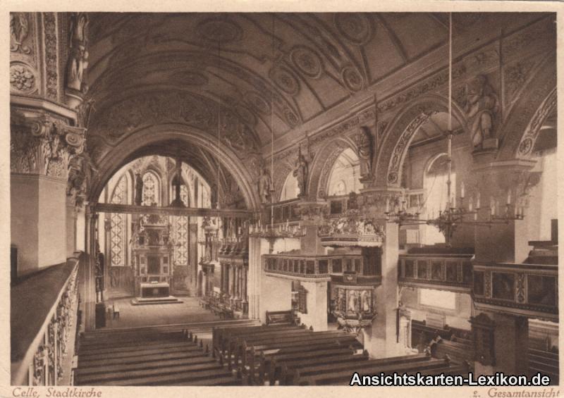 Celle Stadtkirche - innenansicht