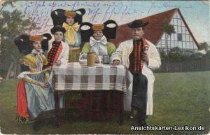 Bückeburg Volkstrachten aus Schaumburg-Lippe