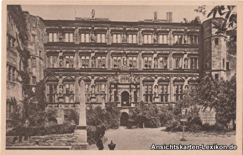 Heidelberg Der Otto Heinrichsbau