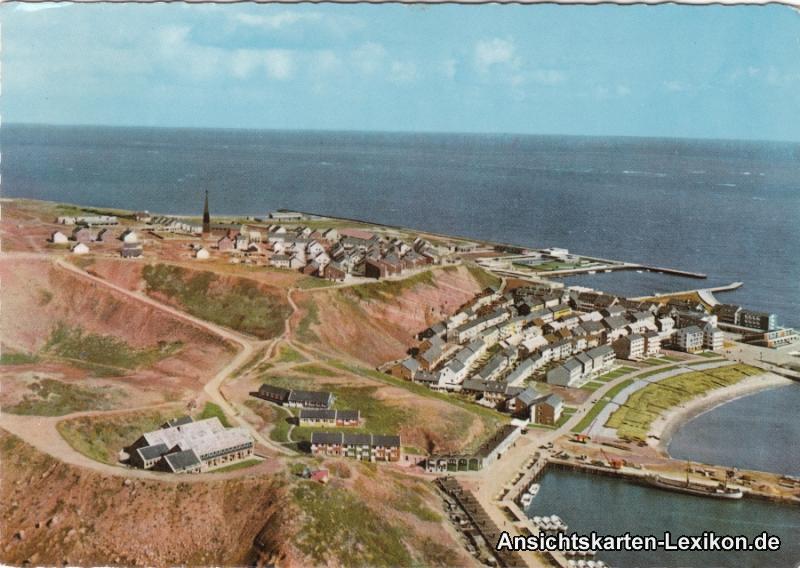 Helgoland Luftbild