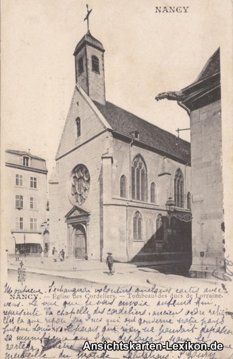 Nancy Kirche Cordeliers (Eglise des Cordeliers - Tombeau