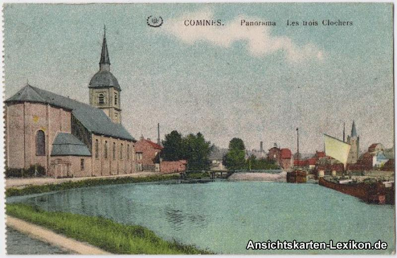 Comines (Nord) Les Trois Clochers