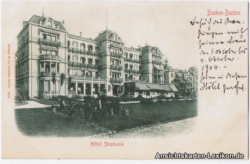 Baden-Baden Hotel Stephanie