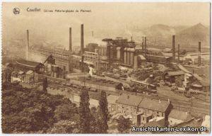 Couillet Stahlwerk (Usines Metallurgiques de Hainaut)