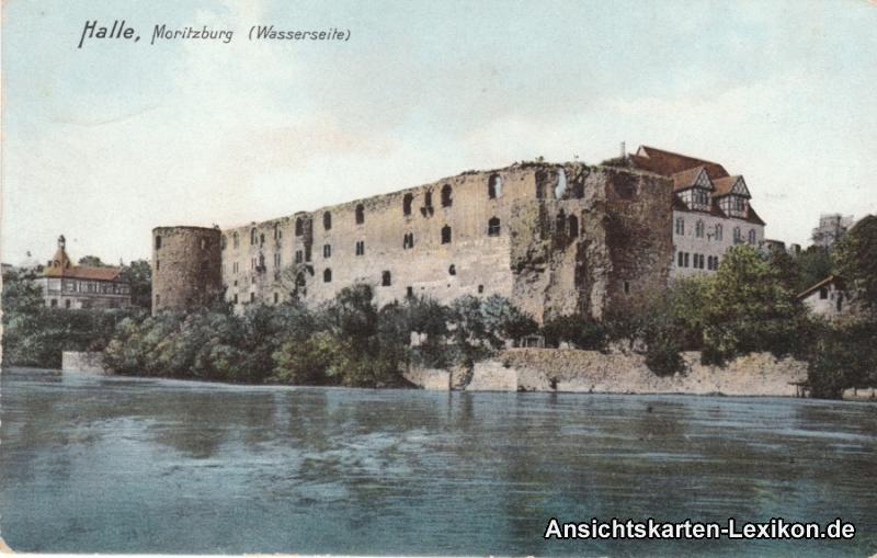 Halle (Saale) Moritzburg (Wasserseite)