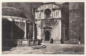 Dubrovnik Raguser Kirche