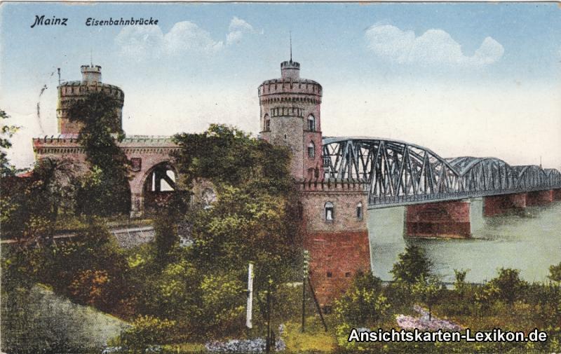 Mainz Eisenbahnbrücke