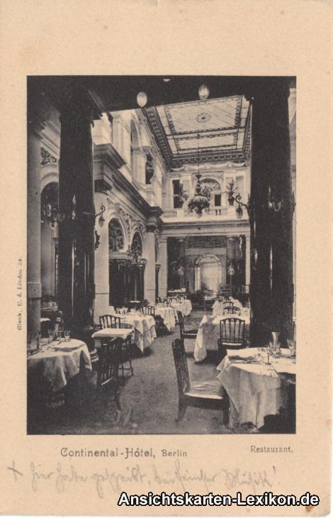Berlin Continental Hotel - Restaurant