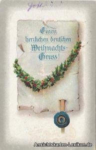 Einen herzlichen Weihnachtsgruß! - Urkunde