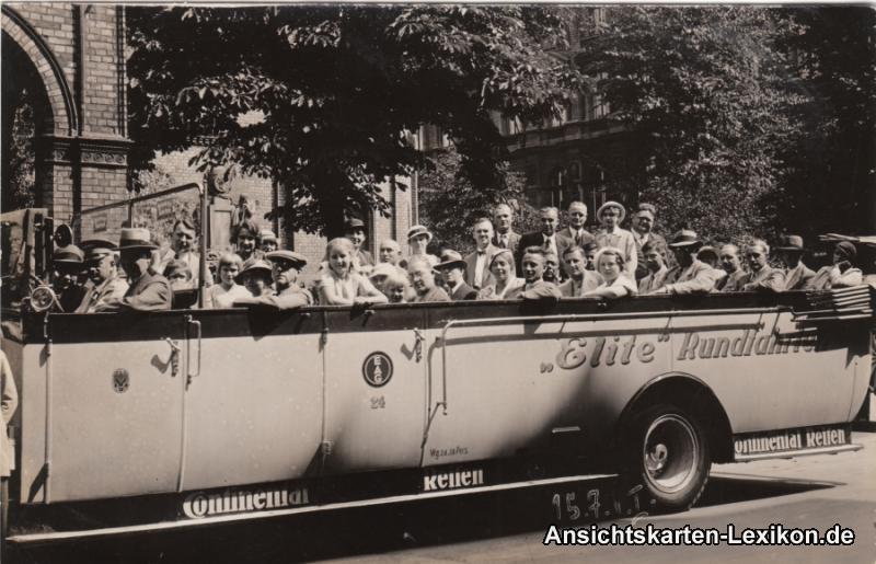 Berlin Bus d Elite Stadtrundfahrten Foto Ansichtskarte