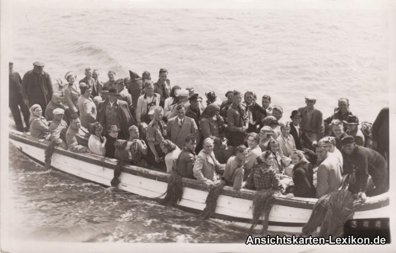 Helgoland Bootspartie bei Helgoland