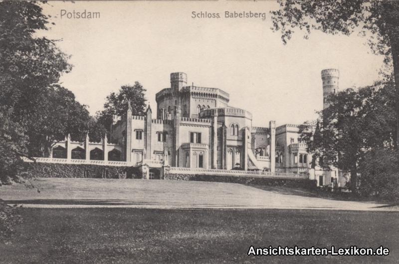 Ansichtskarte Potsdam Babelsberg Schloss Babelsberg g190