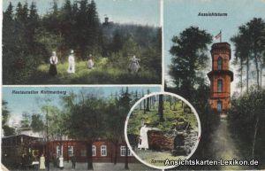 Ansichtskarte Kottmarberg 4 Bild b Walddorf Eibau Löbau
