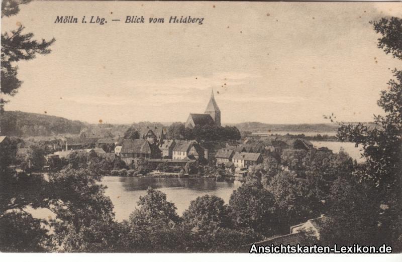 Ansichtskarte Mölln (Schleswig-Holstein) Totalansicht 19