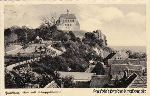 Ansichtskarte Havelberg Totalansicht 1936