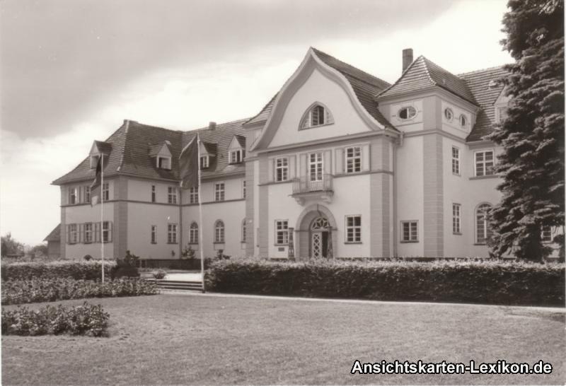 Foto Ansichtskarte Graal-Müritz Sanatorium
