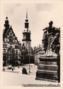 Innere Altstadt-Dresden Schloss und Georgentor