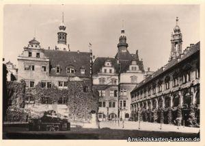 Ansichtskarte Dresden-Innere Altstadt Ehemaliger Stallho