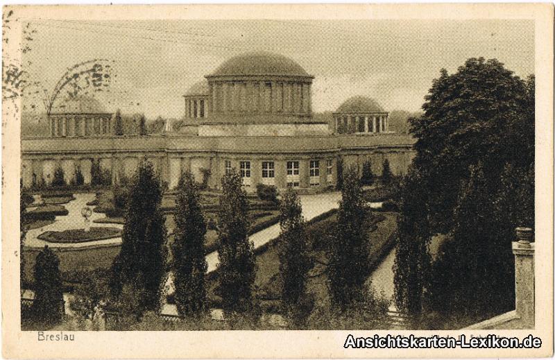 Breslau Ausstellungsgebäude in Scheitnig