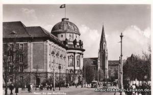 Foto Ansichtskarte Posen An der Paulikirche Poznań