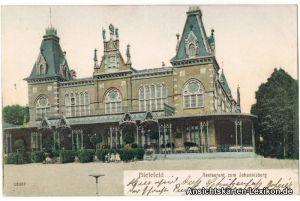 Ansichtskarte Bielefeld Restaurant zum Johannisberg colo