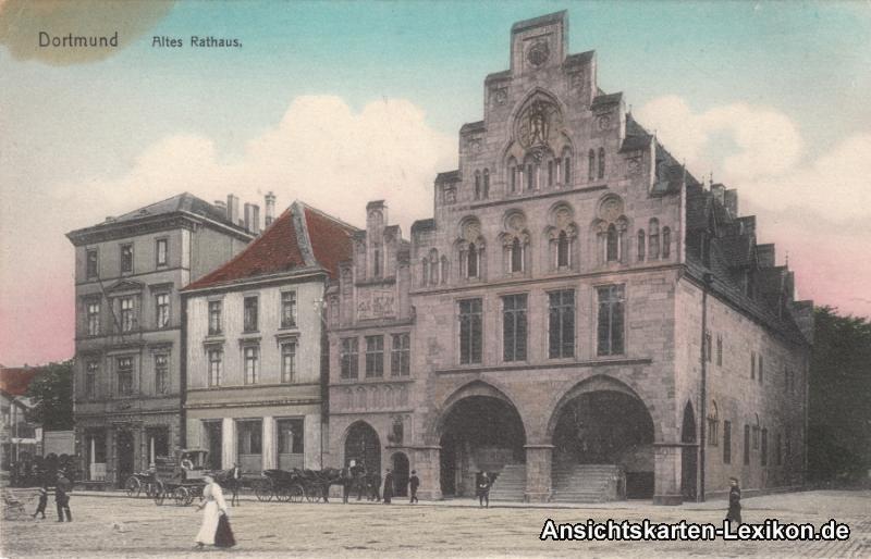 Dortmund Partie am Alten Rathaus