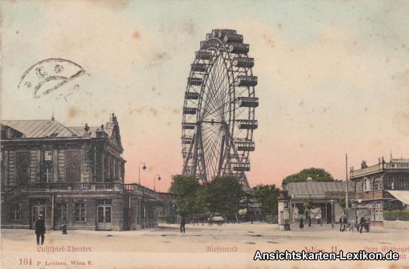 Wien Luftspieltheater, Riesenrad und Restaurant: >Zu