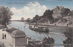 Lübeck Elb-Trave-Kanal mit Kaiserhof