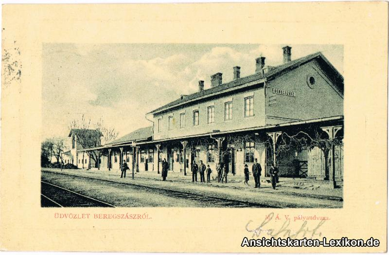 Bergsaß Partie am Bahnhof
