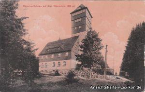 Ansichtskarte Bärenstein Unterkunftshaus - Bärenstein b