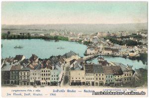 Ansichtskarte Neuhaus Jindřichův Hradec Jungfe