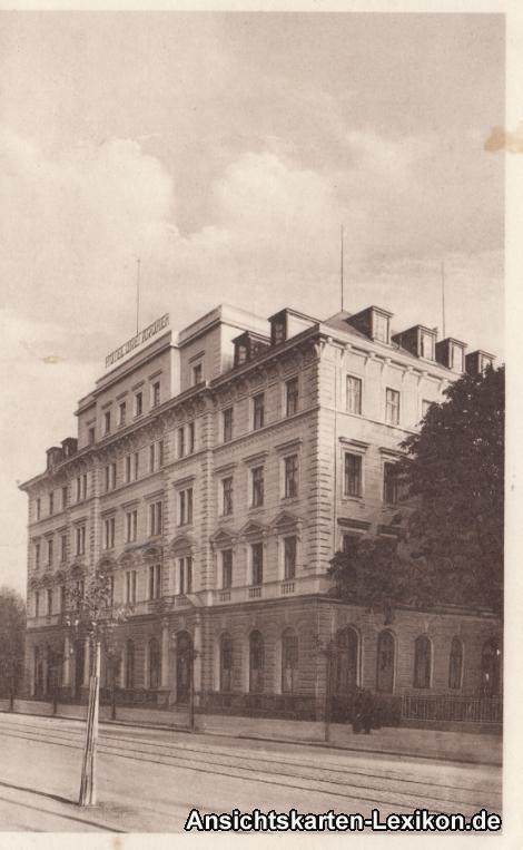 Augsburg Hotel Drei Kronen (Bes. Josef Baur)