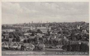 Ansichtskarte Neugersdorf Blick von der Felsenmühle b Löbau 1940
