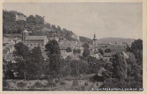 Ansichtskarte Homburg (Saar) Gesamtansicht 1939