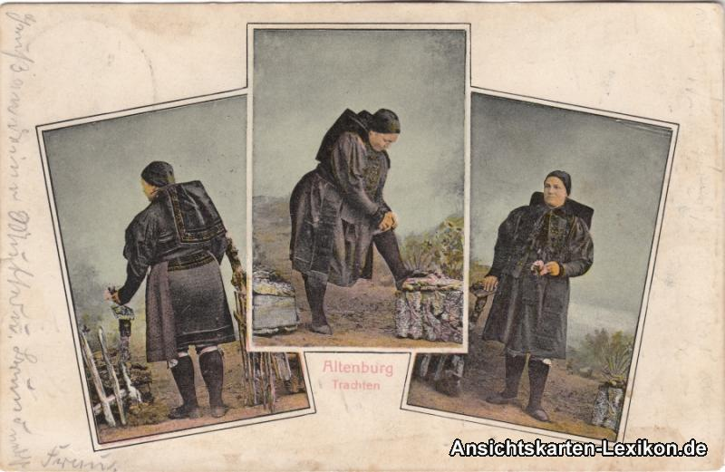 Altenburg 3 Bild Altenburger Trachten