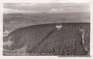 Bärenstein Luftbild Berghotel - Bärenstein