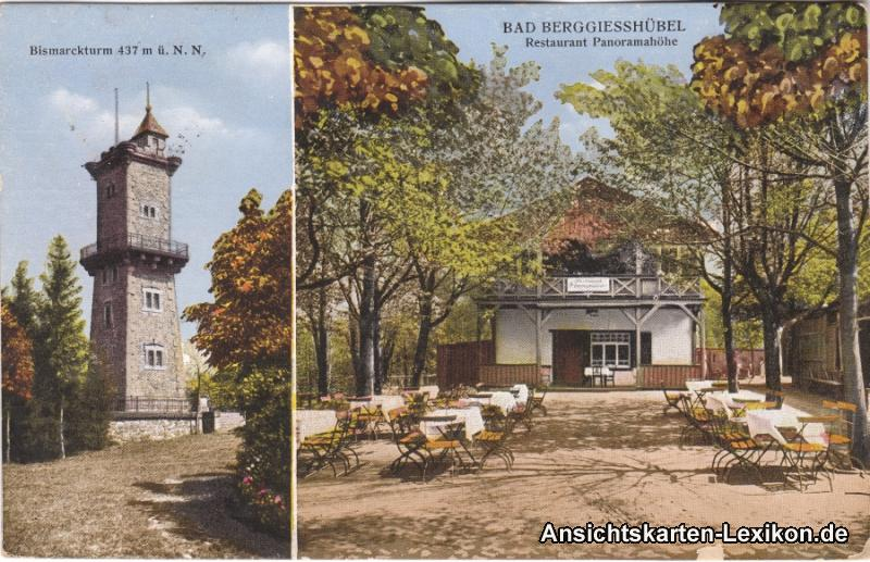 Ansichtskarte Bad Gottleuba-Berggießhübel 2 Bild: Bismar