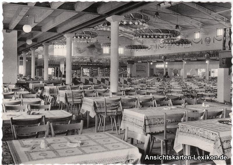 Brüssel Bruxelles Großgaststätte Oberbayern Exposition de Bruxelles 1958