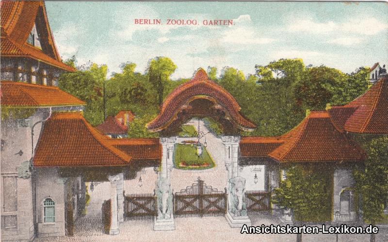 Berlin-Mitte Zoologischer Garten - Eingang