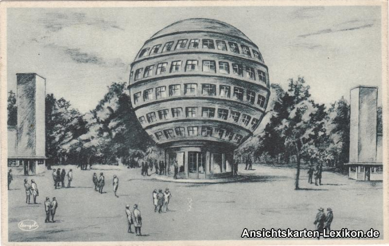 Dresden Kugelhaus - Künstler AK