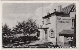 Ansichtskarte Tabarz Thüringer Wald Waldrestaurant