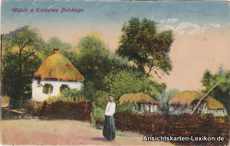 Ansichtskarte Polen Gruß aus Polen Polska Kra. Polskiego