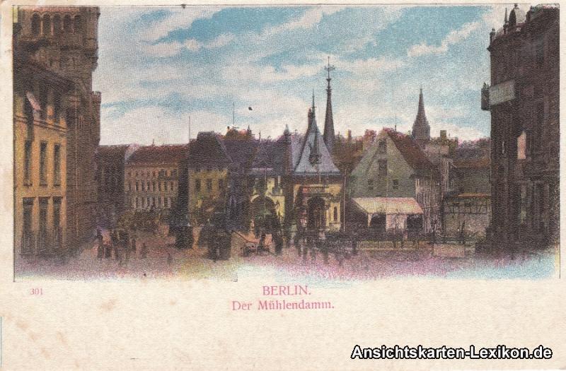 Berlin Der Mühlendamm