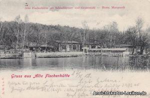Berlin-Zehlendorf Restaurant Fischerhütte am Schlachtens