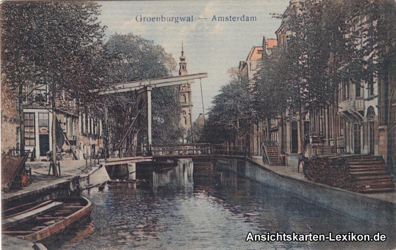 Amsterdam Groebenburgwal