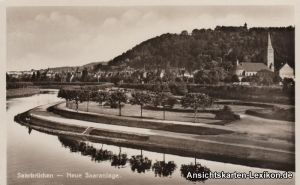 Saarbrücken Neue Saaranlage