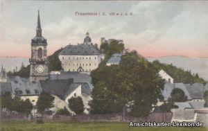 Frauenstein (Erzgebirge) Totale mit Kirche