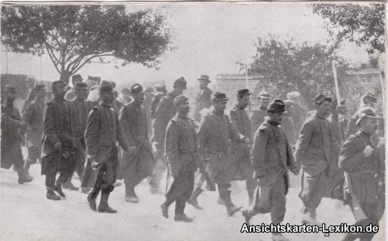 Königsbrück Gefangene Franzosen - Truppenübungsplatz