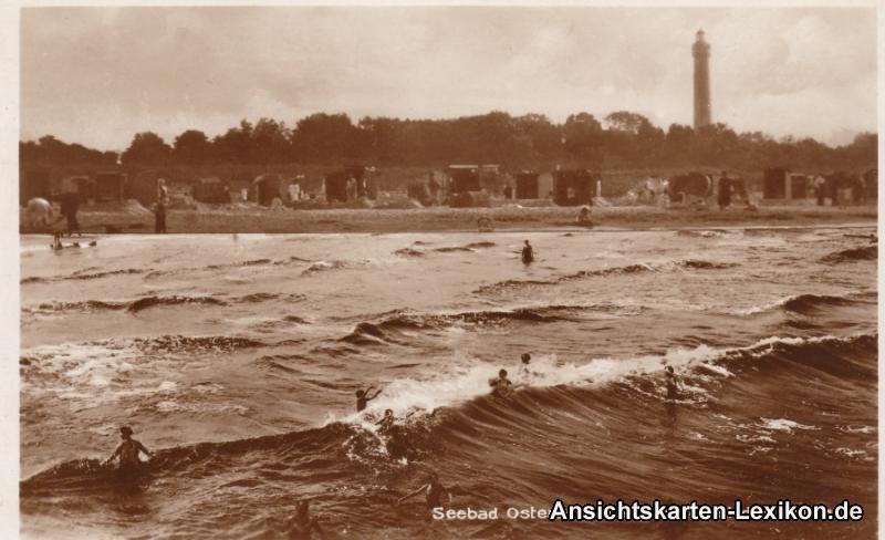 Swinemünde-Osternothafen Strand, Leuchtturm und Totale