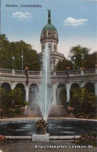Ansichtskarte Breslau Liebichshöhe Wrocław c1918